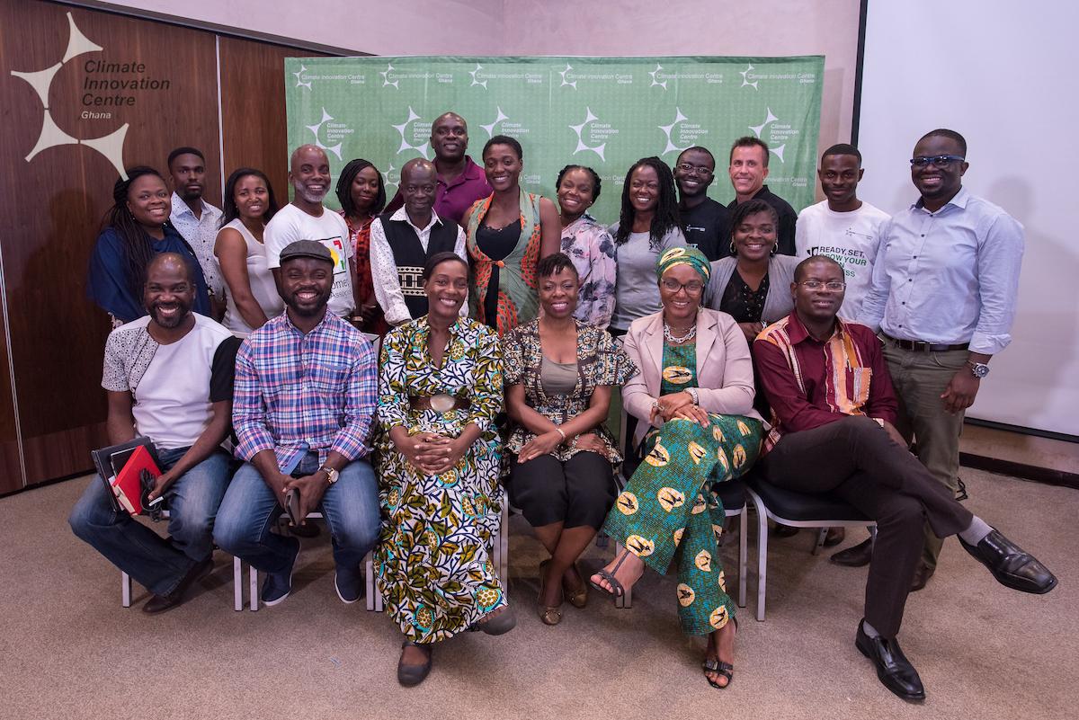 Ghana Climate Innovation Centre awards US$124,900 in grants to Cohort One Entrepreneurs