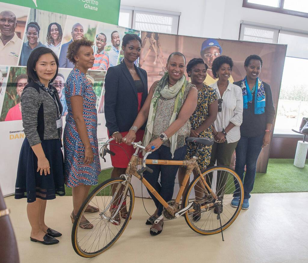World Bank Senior Vice President and General Counsel, Sandie Okoro visits GCIC