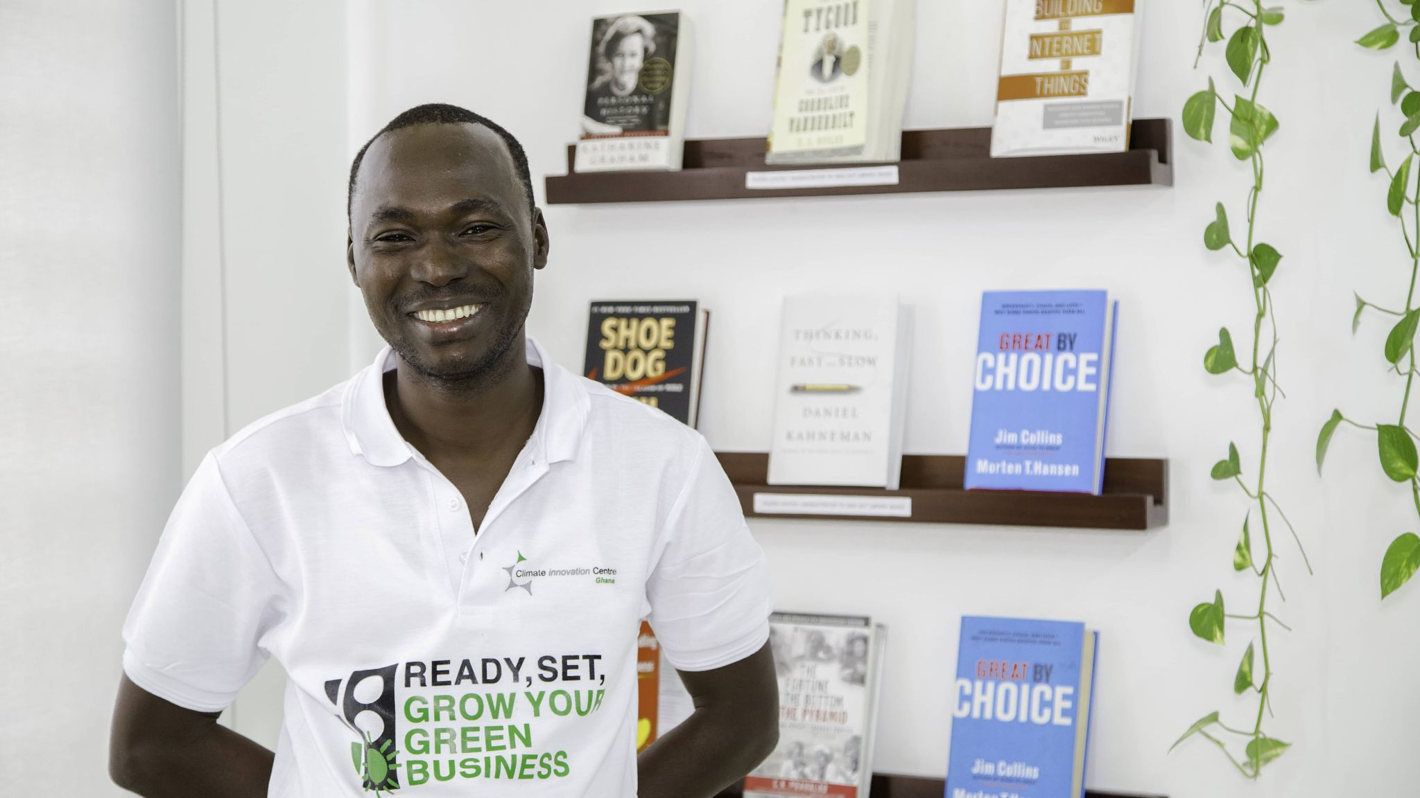 LINCON WINIMI PEEDAH SELECTED AS ONE OF AEA's TOP 50 ENTREPRENEURS IN AFRICA