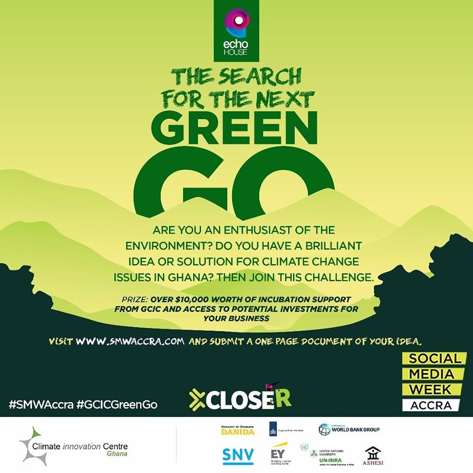 SOCIAL MEDIA WEEK ACCRA GOES GREEN